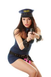 Police Kostüme für Gogos